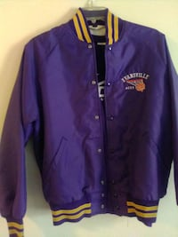 a large shirt and large Evansville Ace jacket barely worn Evansville, 47620