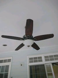 Ceiling fan with remote control for the light and 3 speeds Vienna, 22182