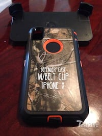 Defender case with belt clip for iPhone X Phoenix, 85353