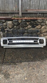 69-70 Chrome Chevy Truck Grille