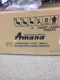 AMANA 9000 BTU HEAT PUMP TTW AC/HEATER Wilmington