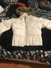 women's white jacket. Good condition. XL Coquitlam, V3K 1C2