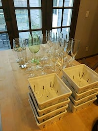 Misc wine and martini glasses and bowls Buffalo, 14221