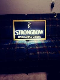 Strongbow sign with lights Amarillo, 79110