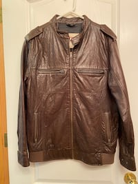 REAL LEATHER TROY LEE DESIGNS JACKET GREAT QUALITY VERY SOFT Edmonton, T5J