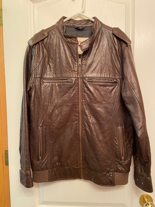 REAL LEATHER TROY LEE DESIGNS JACKET GREAT QUALITY VERY SOFT fed807b2-2c55-4da3-be3f-ce35395f9850