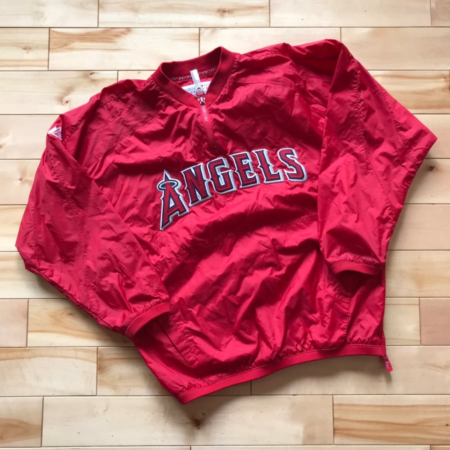 MLB Los Angeles Angels youth pullover jacket