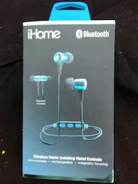 iHome bluetooth noise cancelling earbuds Plymouth