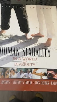 Human sexuality in a world of density by rathus, nevid, and fichner book Agoura Hills, 91301