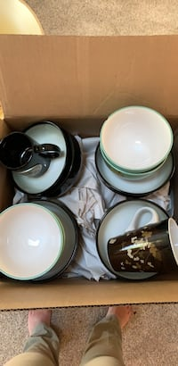 box of dishes.  Centreville, 20120