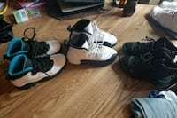 Retro Jordan's hardly worn kids 13.5 Jefferson, 21755