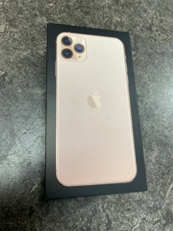 New Apple iPhone 11 Pro Max 256GB Gold 1