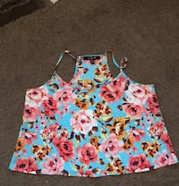Summer clothing, colourful flowers on it, definitely stylish and price is negotiable Toronto, M1P 3B7