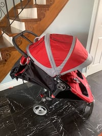 Double stroller city mini Good condition Brampton, L6Y 4A2
