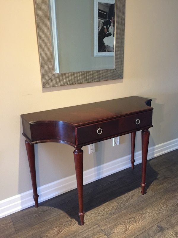 Beautiful mahogany console