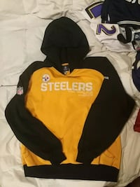 Pittsburgh Steelers on field Reebok hoodie Mississauga, L5J