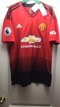 Manchester United Jersey Vaughan, L6A