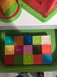 Squeeze and stackable blocks  New York, 10461