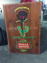 Stella Artois.  One of a kind Dorval, H9P 1H7