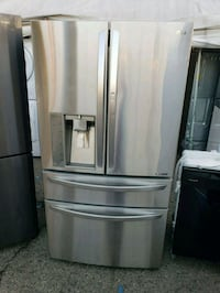 "LG French Door Fridge 36"" Ready to go! 2225 mi"
