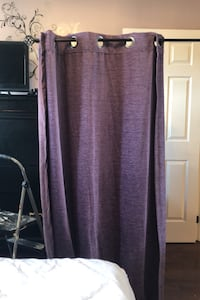 "Two Purple Curtains 84"" Vaughan, L6A 1J6"