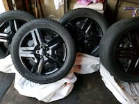 Complete Winter Tires - 225/55R17 + Rims & Covers Toronto, M9R 2A7