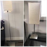 Matching floor and table lamp Rocky View No. 44, T3Z 2Z7