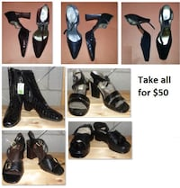 Size 7.5 Ladies Shoes Lot (Take all for $50) Mississauga