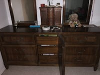 2 very solid wood dressers