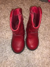 Toddler Red Boots Edmond, 73034