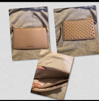 Micheal kors 2 way large clutch