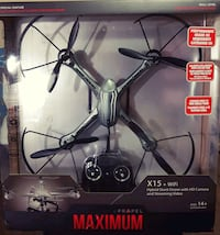 Hybrid Stunt Drone with HD Camera/Streaming Video  3150 km