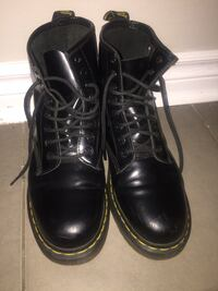 Doc martens winter boots  Sz 8 with extra yellow laces Toronto, M4B 2N8