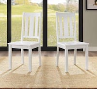 SET OF 6 DINING CHAIRS Dallas