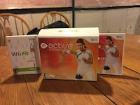 two Nintendo Wii Active and one Wii Fit boxes Toronto, M3J 1P1