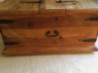 brown wooden 2-drawer chest Vienna, 22182