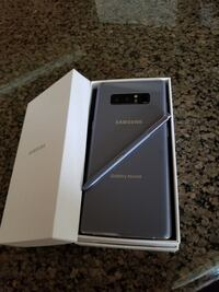 Samsung Galaxy Note 8 - Factory Unlocked - Comes w/ Box + Accessories & 1 Month Warranty  Springfield, 22150
