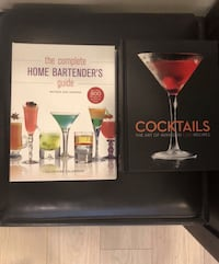 New Cocktail drinks books set Port Coquitlam