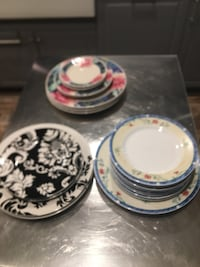 Dinner plate and bread plate Random. All for $30 or each set for $10 Gainesville, 20155