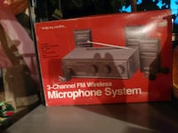 Realistic 3 channel microphone system Hanover, 17331