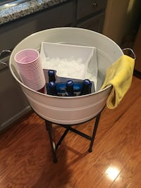 Pottery Barn partyware bucket/stand - multiple uses ( party/plant) Gainesville, 20155