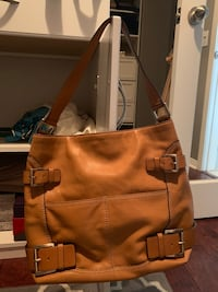 brown leather 2-way bag Beaumont, 92223