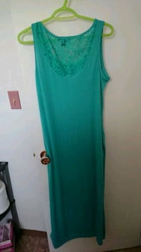 women's teal sleeveless dress Edmonton, T6E