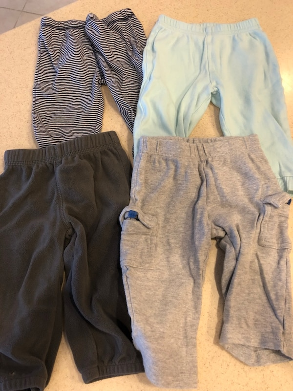 4 pieces clothes baby boy pants