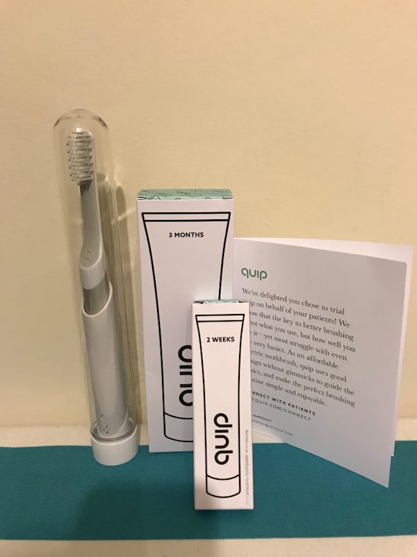 BRAND NEW Quip Electric Toothbrush d5d8e33d-13c0-471f-9e85-481629f8f04d