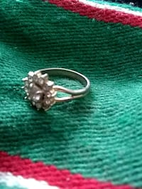 silver-colored diamond ring Bay Point, 94565