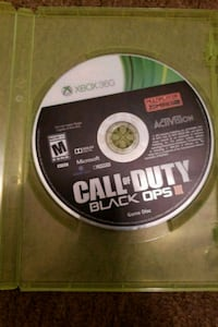 Call of Duty Black Ops 2 Xbox 360 game disc Bismarck, 58504