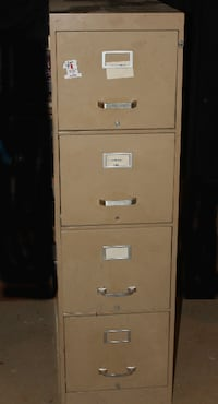 4-DRAWER vertical File cabinet ALLENTOWN
