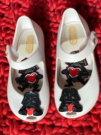 Mini Melissa Star Wars girl's shoes size 8