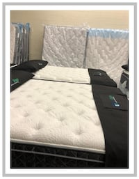 Brand New Queen Mattress in Plastic Woburn